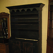 Antique Pewter Cupboard