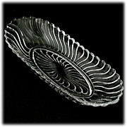 Fostoria Colony Oval Celery Dish Bowl Elegant Glass Vintage