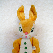Plush Easter Rabbit Knickerbocker 21 &quot; Doll