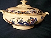 Willow Polychrome Vegetable Tureen