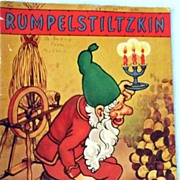 1940 Rumpelstiltzkin Children�s Book