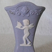 Miniature Jasperware Vase