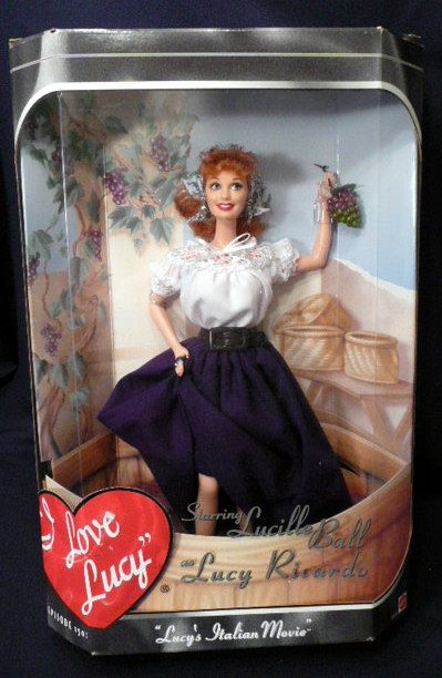 Collectible I Love Lucy Doll