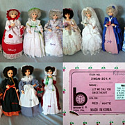 Brinn's  Musical Dolls of the Month Set