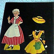 The Old Woman Who Lived in a Shoe Paper Dolls