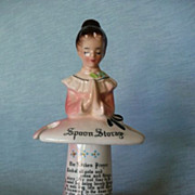 Enesco Kitchen Prayer Spoon Storage