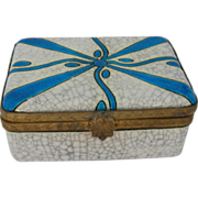 Art Deco Boch Fr�res Art Pottery Box