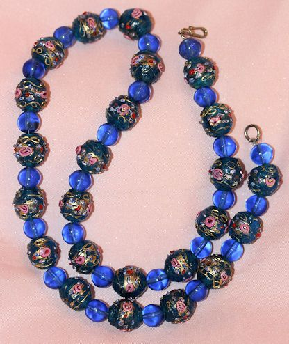 Stunning Vintage  Coro Wedding Bead 20 inch Necklace