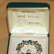 Vintage Irish Brooch Pin by Sol D'Or