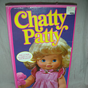 Vintage Mattel Chatty Patty Doll NRFB 1983 Talking