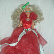 SALE Vintage 1988 First Issue Happy Holiday Barbie