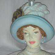 SALE Cameo Girls Judith Transatlantic Lady Head Vase