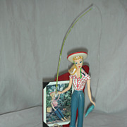 SALE Enesco Barbie Figurine Picnic