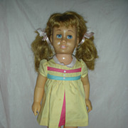 Vintage Blonde Pigtail Chatty Cathy Doll