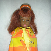 SOLD Rare First Edition Ultra Mod Black Francie Doll in Clam Diggers