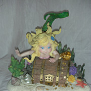 "Tom Ruebel Mystical Mermaid ""Deep Treasures'""Figurine"