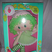 Vintage Lime Chiffon Strawberry Shortcake Rag Doll NRFB