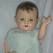 SALE Rare Effanbee Baby Evelyn Effanbee Doll Composition Baby