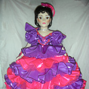 Madame Alexander Cissy Doll Carnival In Rio Doll Porcelain