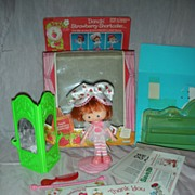 SALE Vintage Dancin' Strawberry Shortcake Doll with Box Hard to Find