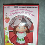 SOLD Vintage Strawberry Shortcake Doll MIB with Shipper
