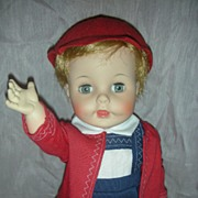SOLD Rare Vintage John John Kennedy Doll by Madame Alexander