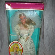 SOLD Vintage Beautiful Bride Barbie Doll NRFB