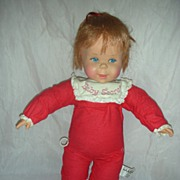 SOLD Vintage Mattel Talking Baby Secrets Doll Works