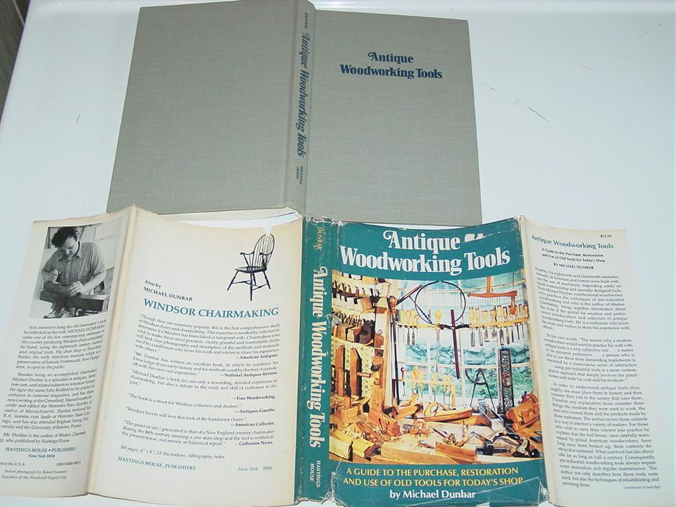 Antique Woodworking Tools Michael Dunbar Book Guide to Use Restoration & Purchase