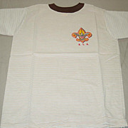 Official Boy Scouts of America T Shirt Stripes Size Medium M 14-16 BSA Made ...