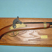 REDUCED Parris Cap Gun Pistol Plaque Kadet Frontier Kentucky Black Powder Savannah Tennessee