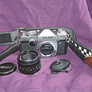 Ricoh Singlex TLS 35mm SLR Film Camera 50mm Lens