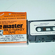 The Master Wild Turkey Calls Tape Sam Nenno & Tom Stuckey Cassette Penn�s Woods Hunting