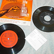 Roger Latham & V.O. Johnson Jr How to Call Wild Turkey Phonograph Record Penn�s ...