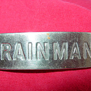 Trainman American Railway Supply Co NY Badge Train Cap Hat Uniform Emblem