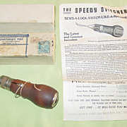 Sportsman�s Post Sewing Awl Speedy Stitcher Leather Canvas New York in box