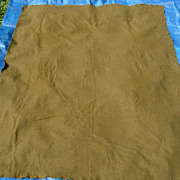 Military Blanket Wool OD M-1934 Korean War 1951 Olive Drab
