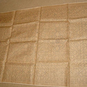 Kurdiston Pearl McGown Hooked Rug Pattern on Burlap Canvas Craft Making Hooking Yarn