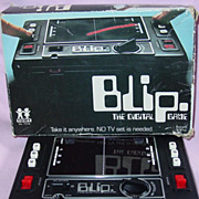 Tomy Blip Digital Game in Box 1977 Works LED Pong Type no Battery Cover