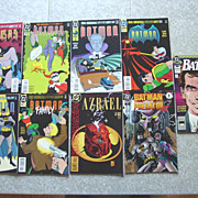 Batman Adventures DC Comic Books 25 to 31 Annual 1990 & Azrael Direct Sales