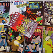 Batman Adventures DC Comic Books 25 to 31 Chronicles No 19 & 21 Direct Sales