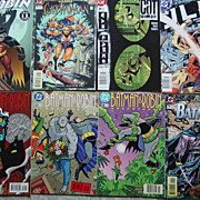 Batman & Robin Adventures 22 23 24 DC Comic Books Catwoman #1 Annual JLA
