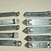 10 Bottle Can Openers Beer Cap Prager Koehler Koch Topper Iroquois