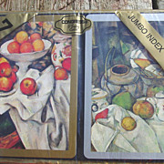 Congress Jumbo Index Playing Cards Fruit Paintings Art Oranges Pears Deck Sealed