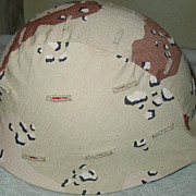 Small Kevlar Helmet Cover Desert Camouflage 1986 Ground Troops Parachutist Camo