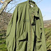 Military Vietnam War Parka Fishtail Extreme Cold Weather M-65 Medium 1972 Shell