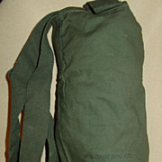 Sloane Mfg Co March 1957 Ammunition Pouch M14 OD Cloth Ammo Case Bag
