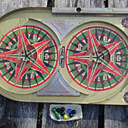 Lindstrom�s Gold Star Game Pinball Bagatelle 1933 Marble Tool & Toy Co. Machine