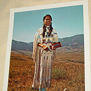 Margery Haury Miss Indian America XVI Photograph 1969 Sheridan Wyoming Pageant Photo
