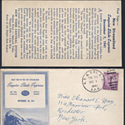 Empire State Express Dec. 7, 1941 First Day Cover Railroad Train Pearl Harbor Attack